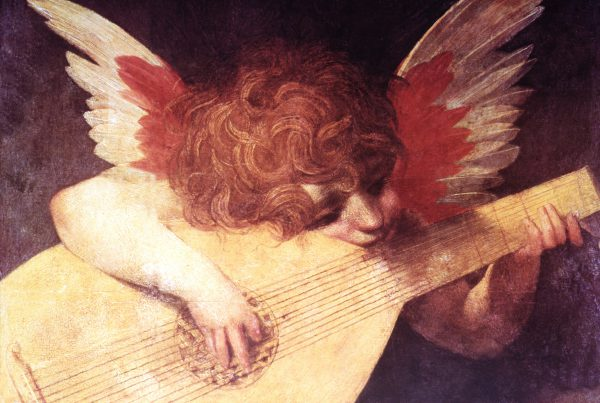 Cupid Playing the Lute