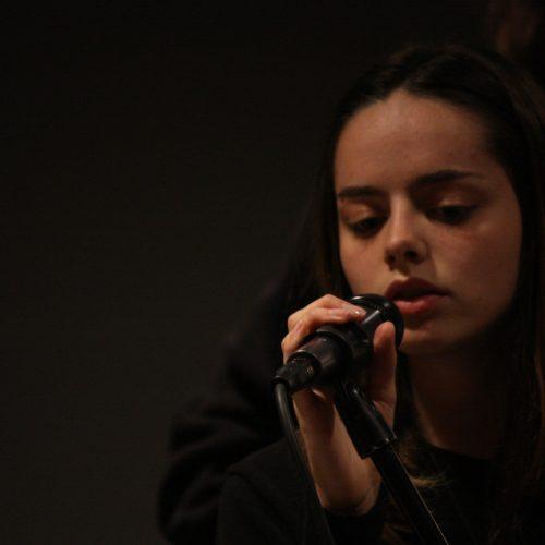 Home Page Slider Photo of Bloor West Music Studios Singer at Baka Cafe