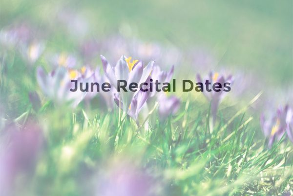 Bloor West Music Studios June Recital Calendar